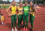 Dar penkias rungtis laimėję Lietuvos lengvaatlečiai – Baltijos šalių čempionai