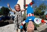 """JAV rinkimų audra: nuo keistų klausimų iki įtartinų ryšių ir """"savų"""" rinkimų"""