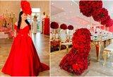 Budrienė surengė išskirtinę vakarienę: prireikė net 7500 raudonų rožių