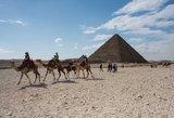 Egipte netoli Gizos piramidžių sprogo bomba, žuvo du turistai