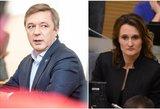 Čmilytė-Nielsen: valdantieji tiesiog ieško, kuo užpildyti Seimo pirmininko etatą