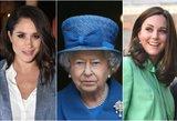 Karalienė tai draudžia: kasdienis aksesuaras, kurio M. Markle ir K. Middleton dėvėti negali