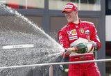 Neįtikėtina istorija: Schumacherį dievinę italai liejo tulžį dėl vieno nekalto judesio