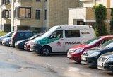 Panevėžiečio automobilis pradingo, kol vyras lankėsi pas gydytoją