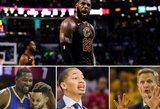"""Liepsnojantis LeBronas prieš """"Warriors"""" žvaigždyną: ko galime tikėtis iš NBA finalo?"""