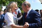 Austrijos diplomatijos vadovė: Putiną į vestuves pakvietė spontaniškai