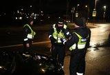 Didžiuliai reidai Vilniuje: girti vairuotojai, BMW gaudynės, daugybė pažeidėjų