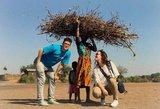 Išskirtiniai kadrai iš UNICEF misijos: skaudi Afrikos vaikų realybė