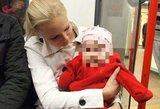 Skausmas ir neviltis: penkių mėnesių dukrytę praradusi šeima prašo lietuvių pagalbos