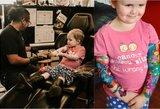 Vėžiu sergančios 3-metės tėvai papuošė ją tatuiruotėmis: vaizdas atima žadą
