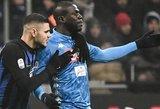 """Rasizmo protrūkis Italijoje: """"Inter"""" klubui ir gerbėjams – griežtos bausmės"""