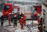 Galingas sprogimas Paryžiuje – 12 sužeistųjų būklė kritinė