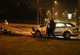 """Pavojingoje sankryžoje """"Škoda"""" nubloškė BMW"""