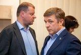 Trys partijos kartu su premjeru pasirašė susitarimą dėl koalicijos ateities