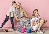 Šeimyninę krizę išgyvenusi Alijeva su vaikais ryžosi pirmiems kartams: įvertinkite