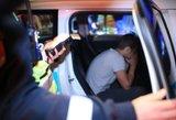 Vilniuje siautėjo girtas 18-metis: padarė dvi avarijas, vežėsi nepilnametes ir narkotikų