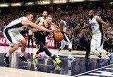 """Domantas Sabonis spindėjo lemiamu metu, """"Pacers"""" išplėšė neįtikėtiną pergalę"""