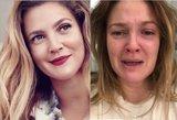 Gerbėjai šėlsta: Berrymore įsiamžino verkianti