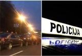 Masinė avarija Vilniuje: užblokuota svarbi gatvė
