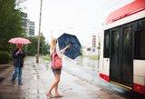 Artimiausių dienų orai: lis, bet vis rečiau
