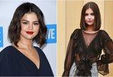Nuotraukoje – tik viena Gomez: jos antrininkė atskleidė, kodėl nenori būti lyginama su žvaigžde