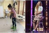 """Likimo smūgį atlaikiusi """"X Faktoriaus"""" dalyvė Gintarė: šokas, neįgaliojo vežimėlis ir ašaros"""