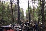 Prie Maskvos sudužo naikintuvas: žuvo pilotas