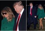 Melanios Trump apranga sukėlė skandalą: ar pastebėsite, kas čia ne taip?