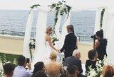Šokėja Daniūtė prisiekė amžiną meilę: vedybų vaizdai gniaužia kvapą