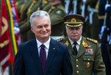 Nausėda: NATO priemonių ginti Baltijos šalims nepakanka