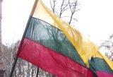 Kauno širdyje rasta sukarpyta lietuviška trispalvė
