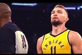 Linkėjimai, Domai: sukūrė jaudinantį klipą apie Sabonio jėgą NBA