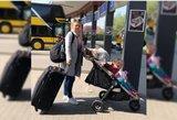 Košmariška Dovilės ir dukros kelionė: autobuse apsipylė ašaromis