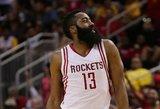 """Tvirta pergalė: """"Rockets"""" klubas su Donatu Motiejūnu nugalėjo Los Andželo """"Lakers"""""""