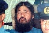 Japonijoje įvykdytos egzekucijos kulto lyderiui ir jo sekėjams
