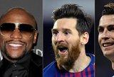 Sporto turtuoliai: boksininkas aplenkė futbolo ir krepšinio žvaigždes