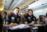 Arčiau Dakaro ralio: Benediktas Vanagas su komanda atvyko į Buenos Aires