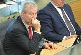 M.Bastys atskleidė, kad su vienu iš VSD ataskaitoje minimų asmenų matėsi jau priesiekęs Seime