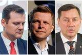 Juodosios kandidatų į Vilniaus merus dėmės