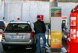 Vairuotojai ne juokais pyksta: degalai brangsta, nors nafta pinga