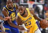 """Įspūdinga: LeBronas ir Lonzo Ballas pasiekė 35 metų senumo """"Lakers"""" rekordą"""