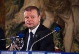 Saulius Skvernelis Taline paragino boikotuoti Astravo AE elektrą