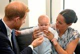 Princas Harry ir Meghan parodė ūgtelėjusį sūnų: panašumas į tėvą atima žadą