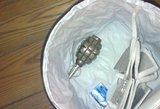 Telšiuose prie degalinės rasta granata