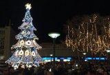 Palanga įžiebė miesto eglę ir suspindo tūkstančiais šventinių lempučių