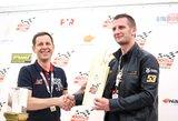 """""""ENEOS 1006 km lenktynių"""" spaudos konferencijoje – nauja žinia apie bendradarbiavimą"""