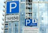 Bloga žinia vairuotojams: automobilių stovėjimas vilniečiams brangs