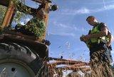 Neblaivaus traktoristo juokeliai pareigūnus išvedė iš kantrybės