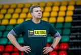 D.Adomaitis dalino vertingus patarimus Lietuvos rinktinės ateičiai