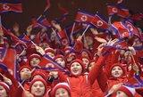 Sportas ir taika: Pietų ir Šiaurės Korėjos vienijasi organizuoti 2032-ųjų olimpiadą